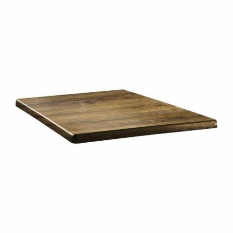Topalit Tischplatte Classic Line eckig Atacama Kirschenholz 60x60 cm-Gastro-Germany