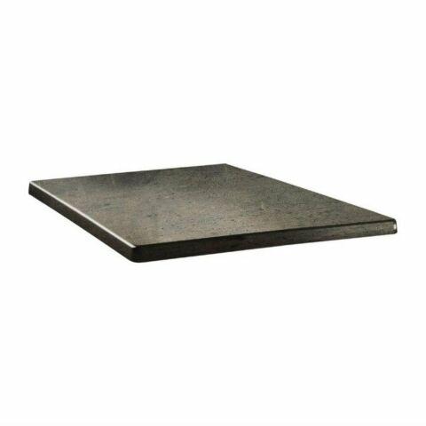 Topalit Tischplatte Classic Line eckig Beton 60x60 cm-Gastro-Germany