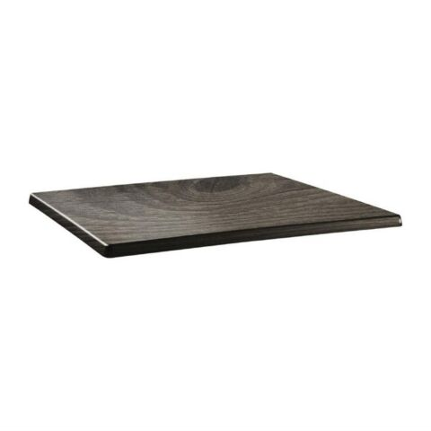 Topalit Tischplatte Classic Line eckig Holz 120x80cm-Gastro-Germany