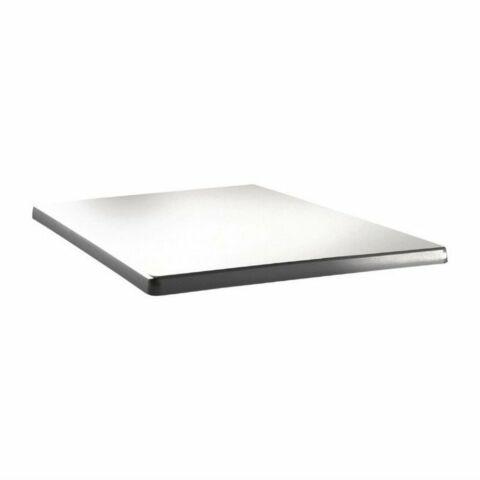 Topalit Tischplatte Classic Line eckig weiß 80x80cm-Gastro-Germany