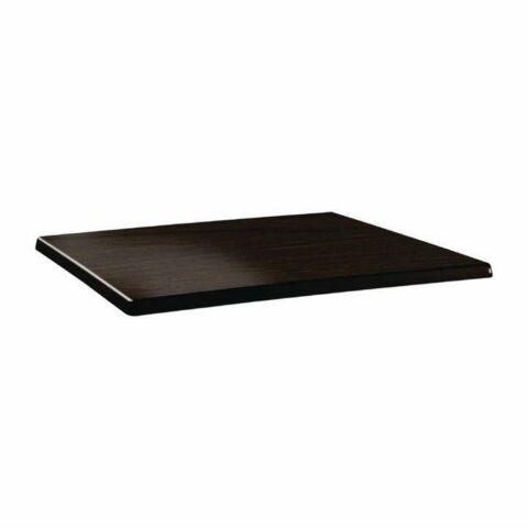 Topalit Tischplatte Classic Line eckig wenge 110x70 cm-Gastro-Germany
