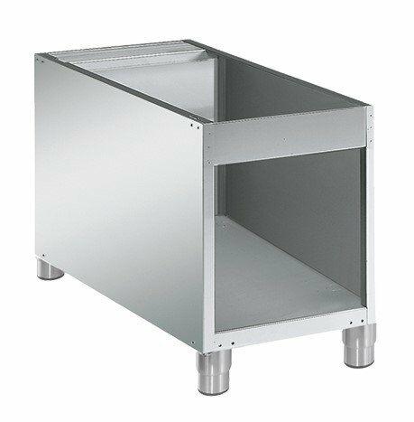 Edelstahl Untergestell offen für Kochgeräte Serie 700, Breite 400mm