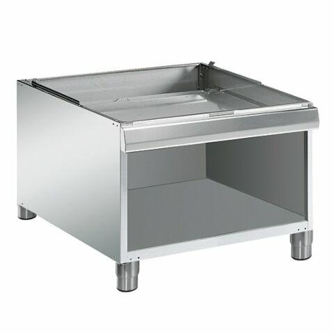 Edelstahl Untergestell offen für Kochgeräte Serie 900, Breite 800mm