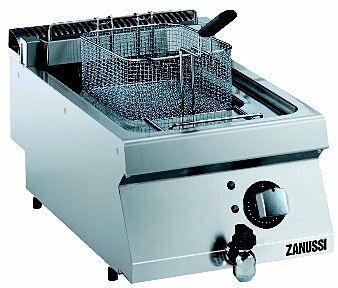 ZANUSSI Elektro Fritteuse EF7 12 L, 400V, 400 x 700 x 250 mm-Gastro-Germany